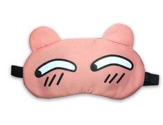 Earplugs Maska na oči na spaní Podezřelý Růžová