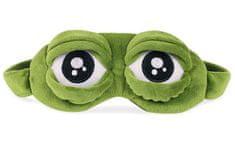 Earplugs Maska na oči na spaní Žába