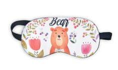 Earplugs Maska na spaní Medvěd