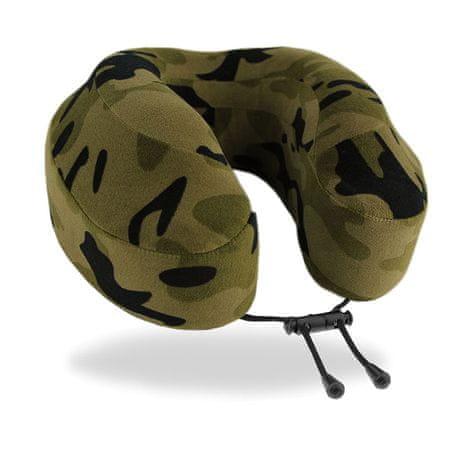 Cabeau Cestovní polštář z paměťové pěny Cabeau Evolution® Classic - Camouflage