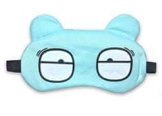 Earplugs Maska na oči na spaní Unavený Barva: Tyrkysová