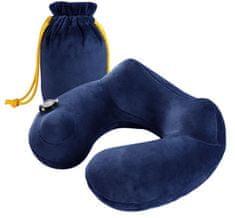 Earplugs Malia Cestovní nafukovací polštář Barva: Modrá