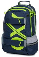 Karton P+P Anatomický batoh OXY SPORT Blue line Green