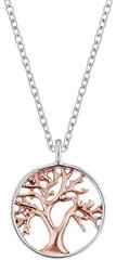 Engelsrufer Srebrny dwukolorowy naszyjnik Drzewo Życia ERN-LILTREE-BI srebro 925/1000