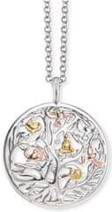 Engelsrufer Strieborný tricolor náhrdelník Strom života ERN-TREE-TRICO striebro 925/1000