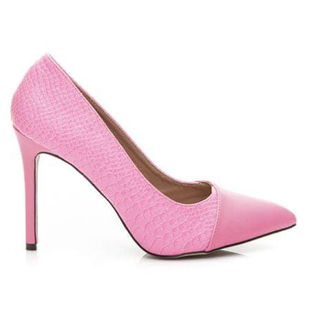 Női körömcipő 2294, rózsaszín árnyalat, 40