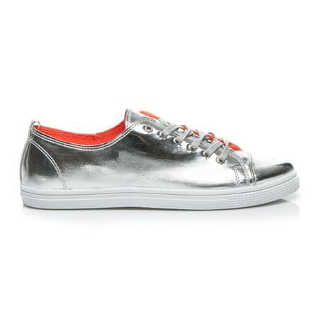 Női tornacipő 2397, szürke és ezüst árnyalat, 36