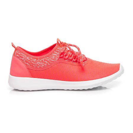 Női tornacipő 4450 + Nőin zokni Gatta Calzino Strech, narancssárga árnyalat, 38