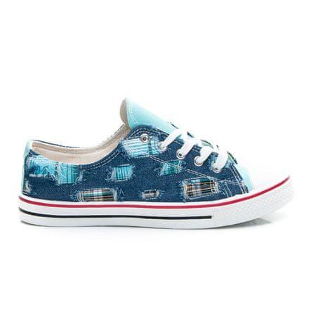 Női tornacipő 2265, kék árnyalat, 37