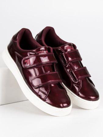 Női tornacipő 46984, piros árnyalat, 39