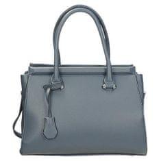 Univerzální modrá kufříková kabelka na zip