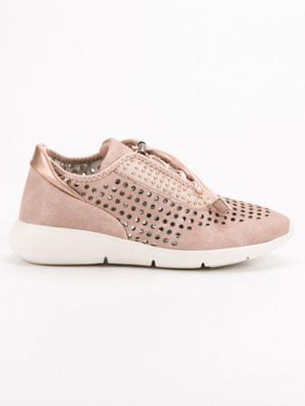 Női tornacipő 51997, rózsaszín árnyalat, 41