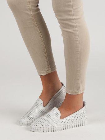 Női balerina cipő 51967, fehér, 38