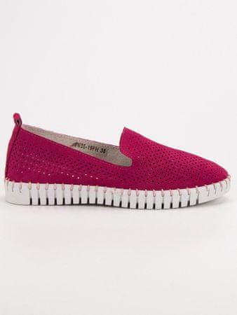 Női balerina cipő 52145 + Nőin zokni Gatta Calzino Strech, rózsaszín árnyalat, 36