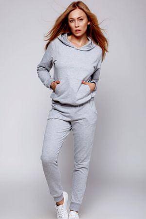 Női pizsama Dres coma, szürke, L