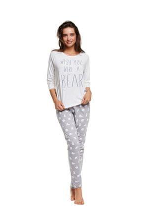 Henderson Női pizsama 37506 Honey, krém, S
