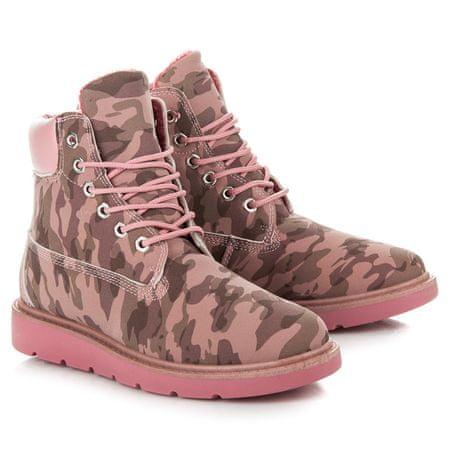 Női bokacipo 28157, rózsaszín árnyalat, 38