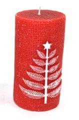 DUE ESSE Świeczka dekoracyjna 11 cm, choinka