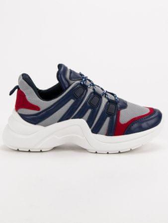 Női tornacipő 51897, kék árnyalat, 37