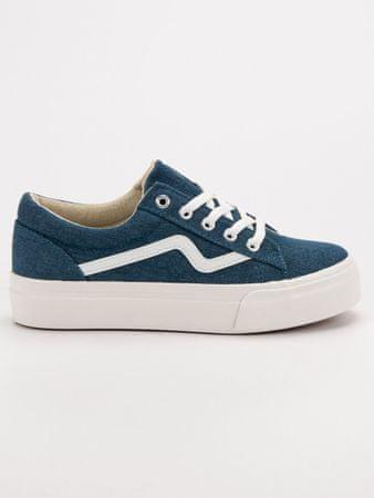 Női tornacipő 52035, kék árnyalat, 37