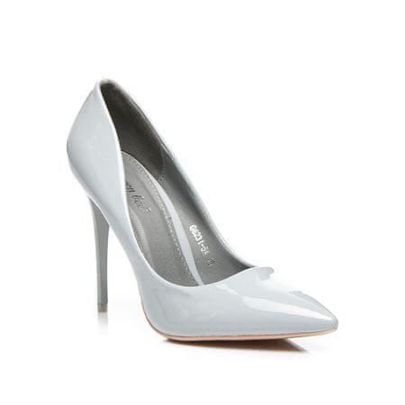 Női körömcipő 3959 + Nőin zokni Sophia 2pack visone, szürke és ezüst árnyalat, 36