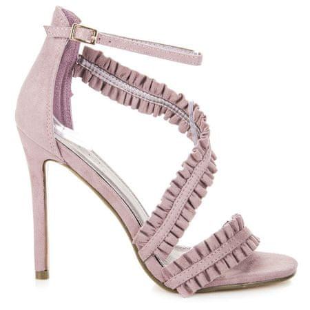 Sandały damskie 38841, odcienie fioletu, 37
