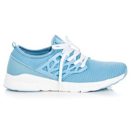 Női tornacipő 41501 + Nőin zokni Gatta Calzino Strech, kék árnyalat, 36