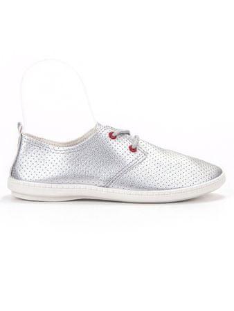 Női tornacipő 56901, szürke és ezüst árnyalat, 38