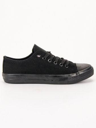 Női tornacipő 57140, fekete, 38