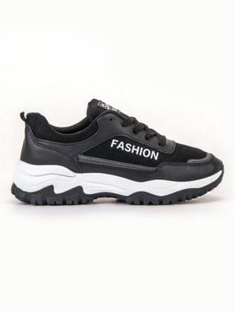 Női tornacipő 57381, fekete, 38