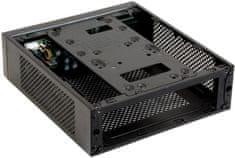 Chieftec Compact saries IX-03B-85W sa zdrojom 85W, čierna