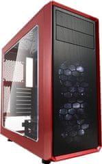 Fractal Design Focus G, červená (okno)