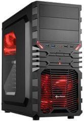 Sharkoon VG4-W, čierno-červená