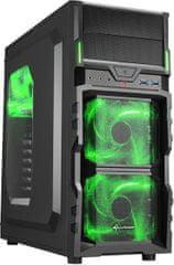 Sharkoon VG5-W, čierno-zelená