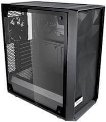 Fractal Design Meshify C - TG light, okno, čierna