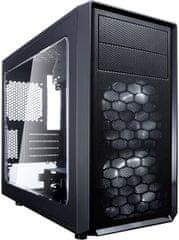 Fractal Design Focus G Mini, čierna (okno)