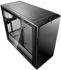 Fractal Design Define R6 USB-C Tempered glass, Black