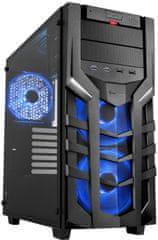 Sharkoon DG7000-G RGB, čierna