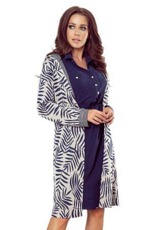 Numoco Női kabát 218-3 + Nőin zokni Gatta Calzino Strech, kék, L