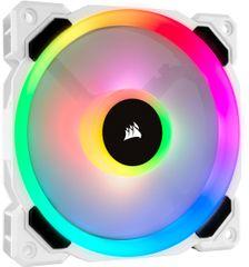 Corsair Air saries LL120 RGB, 120mm, biely