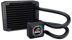 Akasa Venom R10 RGB, vodné chladenie CPU