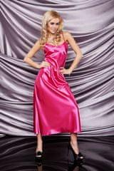 DKaren Satenová košilka Iga pink růžová