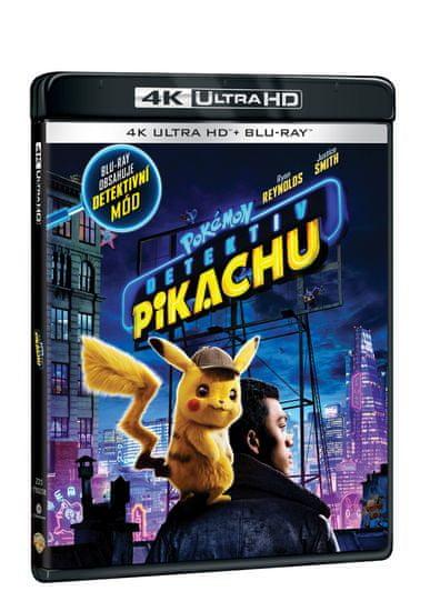 Pokémon: Detektiv Pikachu (2 disky) - Blu-ray + 4K Ultra HD