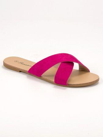 Női papucs 56074, rózsaszín árnyalat, 36