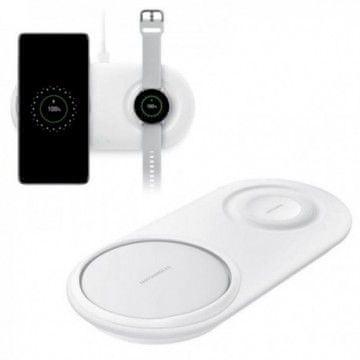 SAMSUNG Bezdrátová duální nabíjecí podložka, bílá EP-P5200TWEGWW