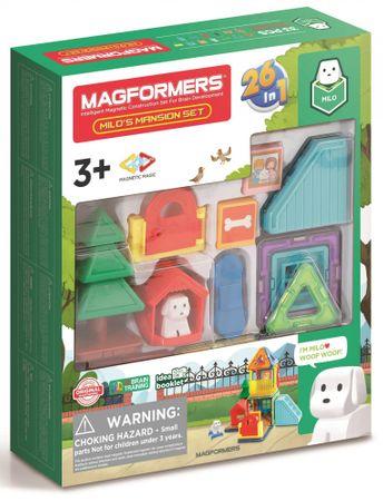 Magformers MINI pasje kraljestvo, komplet za sestavljanje