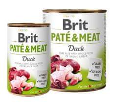 Brit Pate & Meat mokra hrana za pse, raca, 400 g