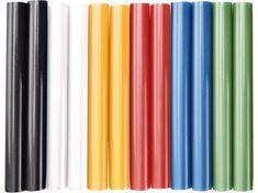 Extol Craft Tyčinky tavné farebné 12ks, B/Z/M/Če/Ž/Či, pr.11mm, dĺžka 100mm