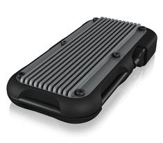 IcyBox IB-1819M-C31 ohišje za M.2 NVMe SSD, USB-C 3.1