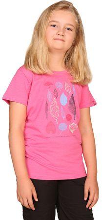 ALPINE PRO BRANTO 2 gyerek póló 140 - 146 szürke